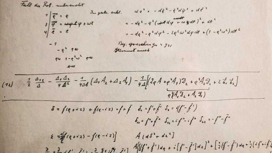 Reveladas más de 100 páginas de nuevos manuscritos de Einstein
