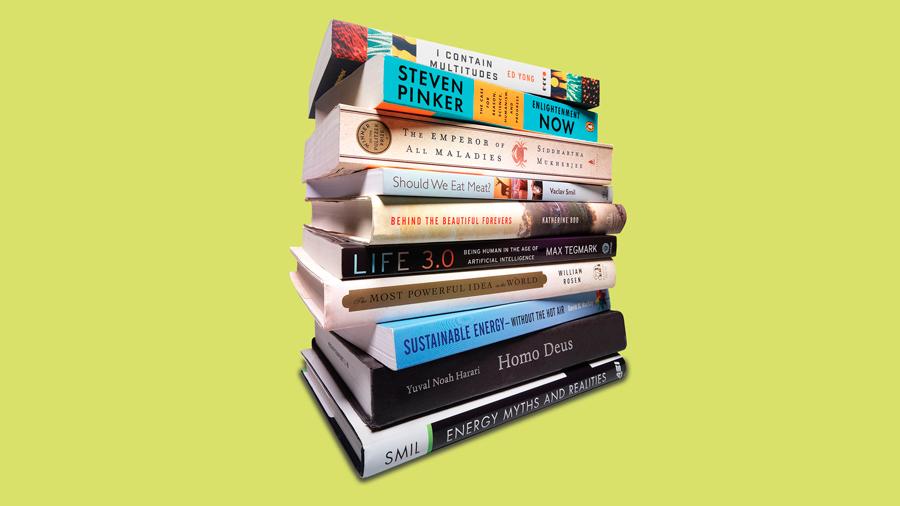 10 libros que Bill Gates leyó para elegir las 10 Tecnologías Emergentes