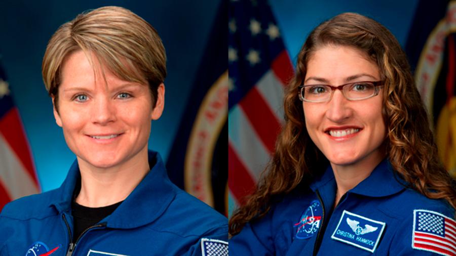 Mujeres astronautas de la NASA realizarán la primera caminata espacial exclusivamente femenina
