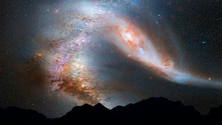 Astrónomos determinan con precisión la verdadera masa de la Vía Láctea