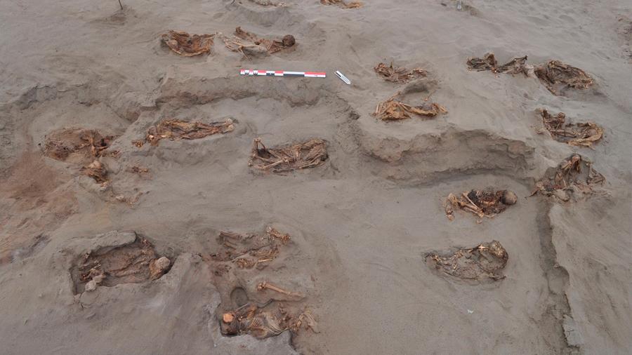 Arqueólogos datan en Perú el mayor sacrificio masivo de niños del Nuevo Mundo