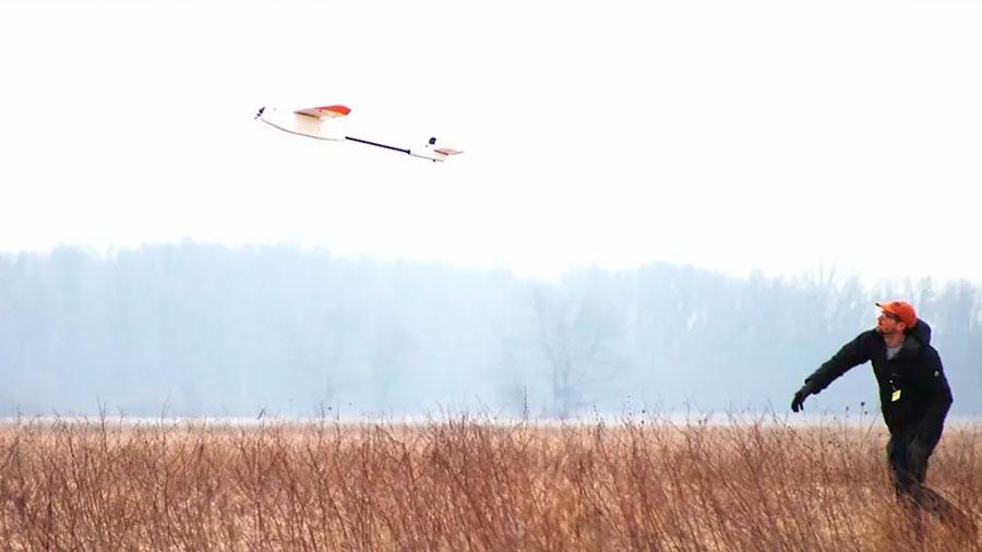 Nuevas baterías aportan tres horas de autonomía a un dron eléctrico