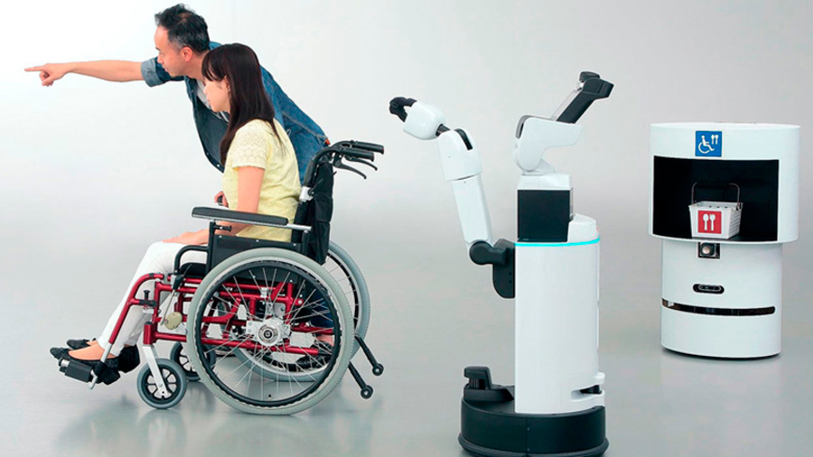Tokyo 2020: Japón presenta dos robots y un exoesqueleto como apoyo para los Juegos Olímpicos