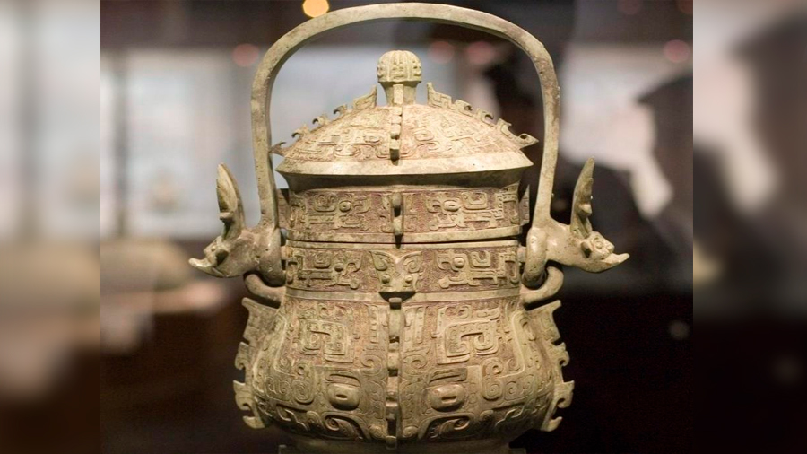 Hallan una vasija china de hace 2,000 años con un supuesto elixir de la inmortalidad