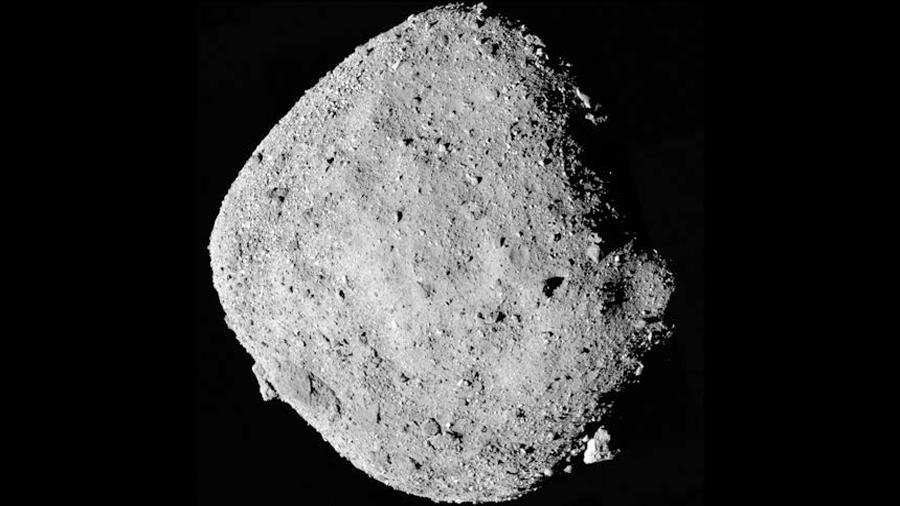 NASA revela más datos de Bennu, el 'asteroide de la muerte'