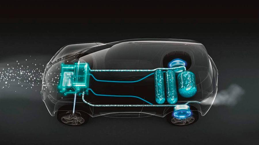 Nueva técnica de propulsión de vehículos eléctricos mediante hidrógeno