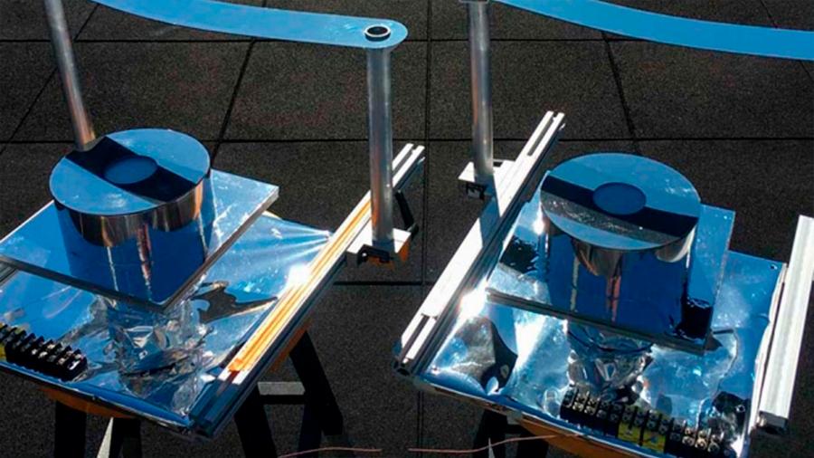 Crean una sombrilla de alta tecnología para refrigerar sin electricidad
