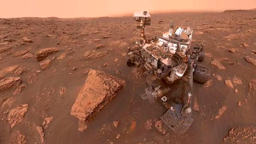 Curiosity halló nitrógeno, esencial para la existencia de la vida, en Marte