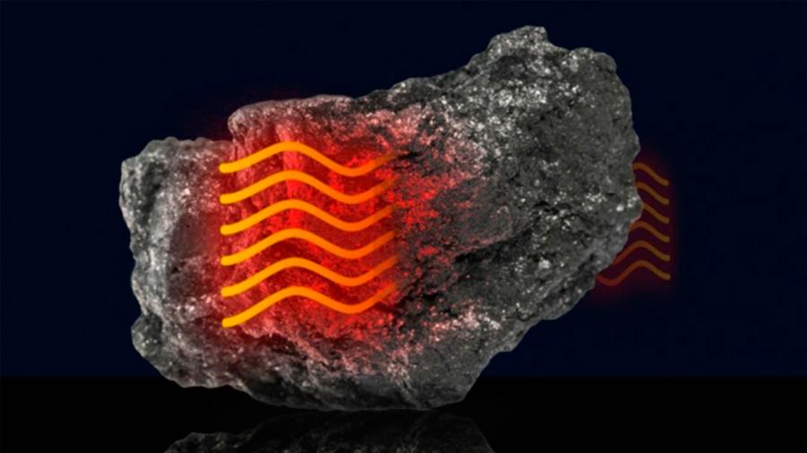 El calor se mueve a través del grafito como el sonido en el aire