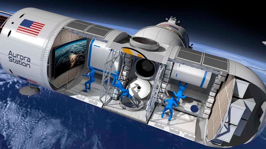 Aurora Station, la nave que quiere convertirse en el primer hotel espacial del mundo