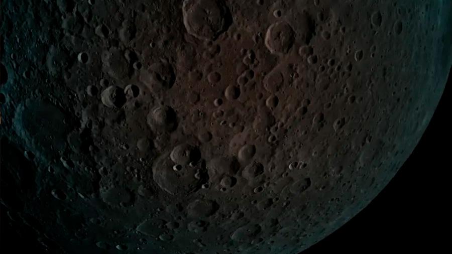 La nave Beresheet de Israel toma imágenes de la cara oculta de la Luna