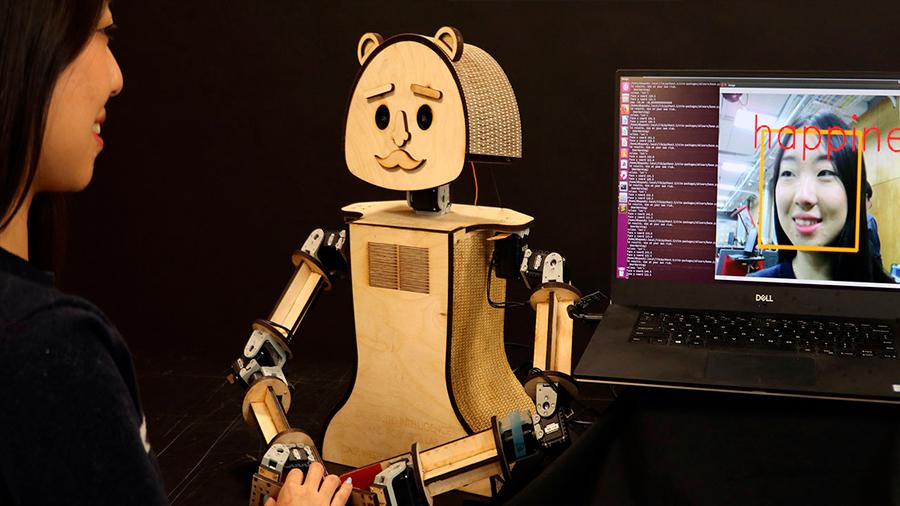 Nuevos robots identifican las emociones humanas en tiempo real