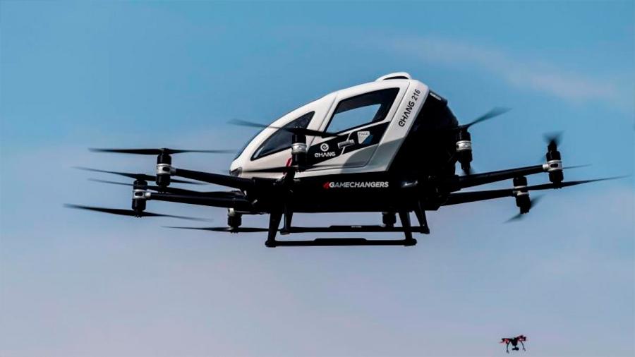 Despega en Viena un nuevo 'taxi volador'