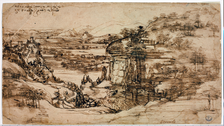 Una de sus obras demuestra que Leonardo Da Vinci era ambidiestro, concluye equipo de expertos