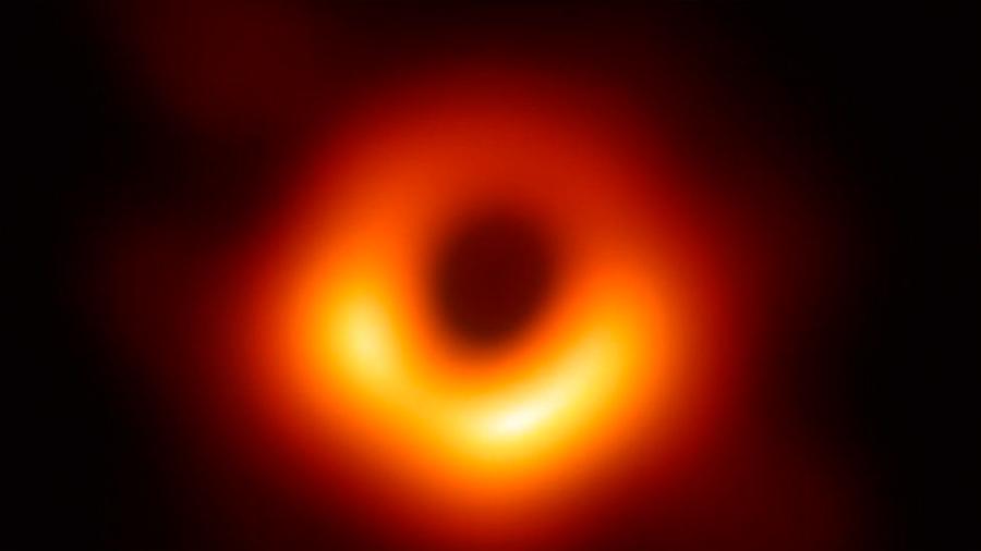 Conoce el mundo la primera fotografía de un agujero negro