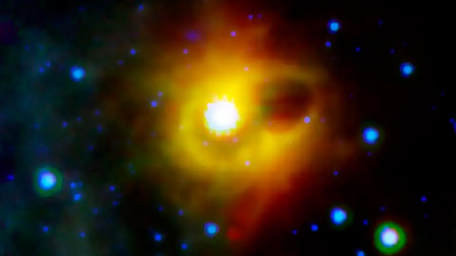 Se observa la formación de un magnetar a 6,500 millones de años luz