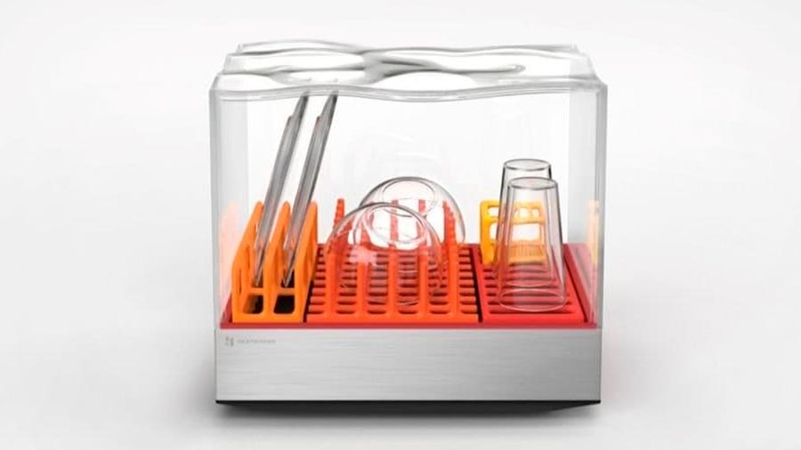 Minilavavajillas promete lavar tus platos en solo diez minutos