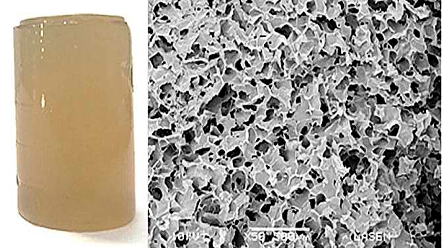 Desarrollan un gel que puede liberar fármacos o absorber contaminantes