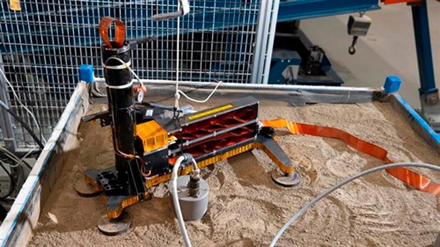 Prueban en la Tierra salidas al taladro atascado de InSight en Marte
