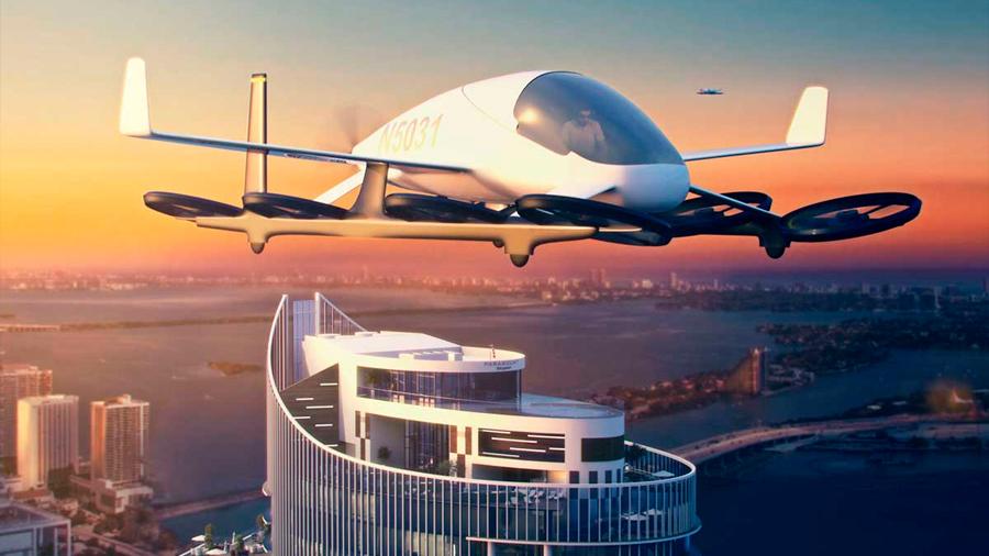 Los coches voladores solo serán sostenibles si van llenos