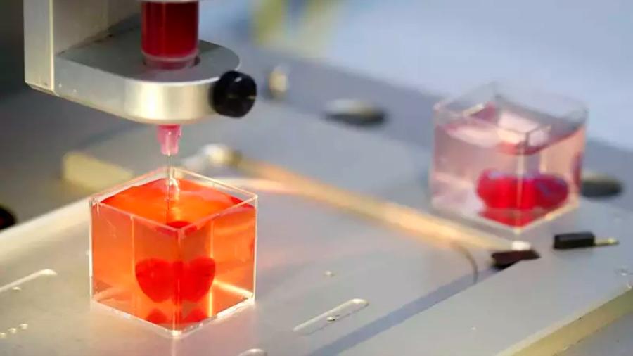 Se imprime el primer corazón 3D con vasos sanguíneos y células
