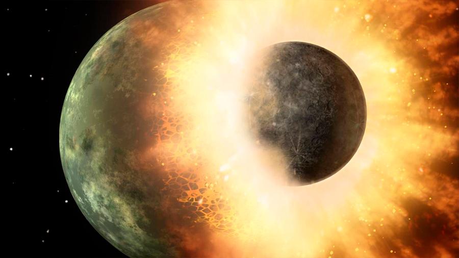 Nueva evidencia sugiere que la Luna sí fue formada después de un impacto gigante