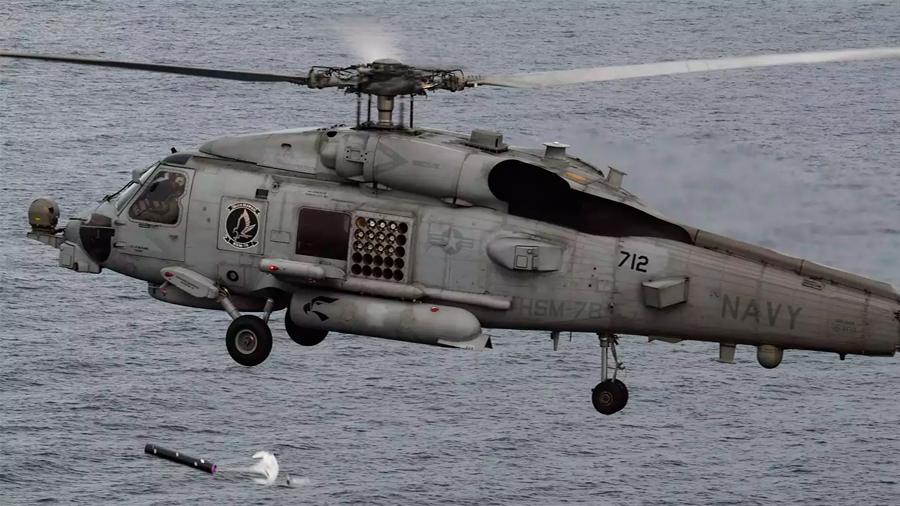 Robots submarinos lanzados vía helicópteros serán los nuevos exploradores de minas en el fondo del mar