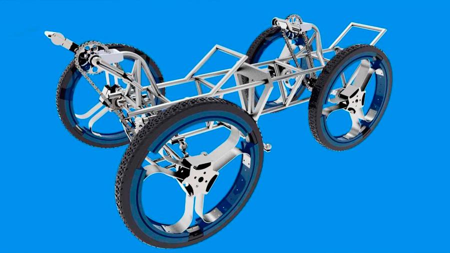 Estudiantes peruanos ganan concurso de la NASA con prototipo de vehículo lunar