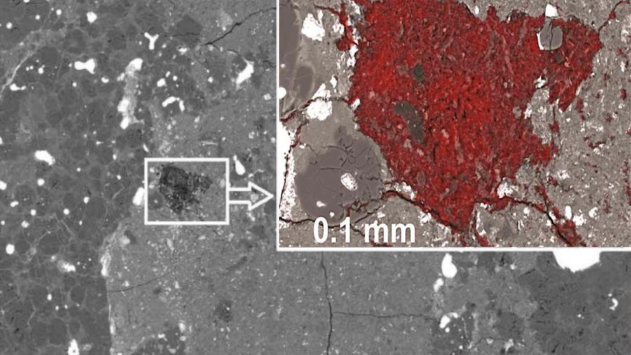 Científicos hallan fragmento de cometa dentro de un meteorito