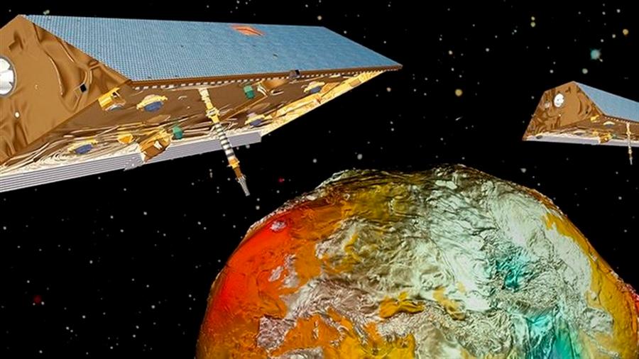 El cambio climático se hace patente en la gravedad terrestre