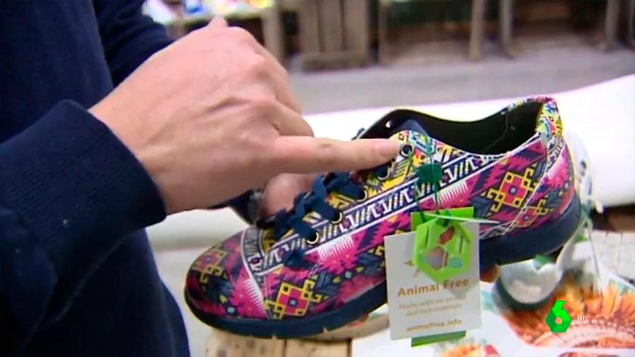 Zapatos de maíz, calzado 'vegano' para respetar el medio ambiente