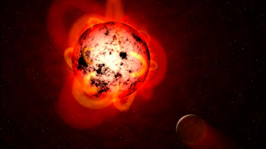 Detectan llamarada en una estrella como Júpiter más fuerte que las del Sol