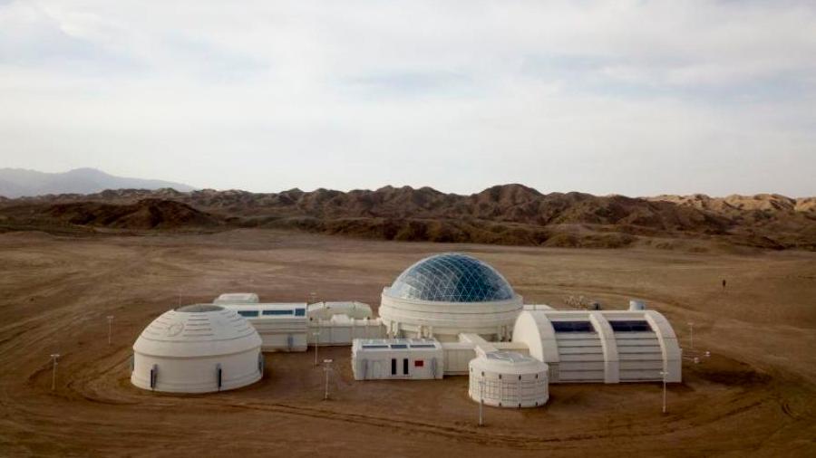 "China abre base simulada para buscar a su primer ""marciano"""
