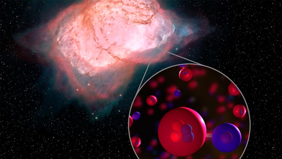 Detectada la molécula más antigua del universo, a tres mil años luz