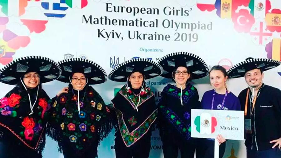 mexicanas en Olimpiada Europea Femenil de Matemáticas 2019