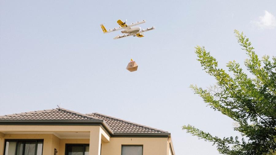 Los drones mensajeros de Google comienzan a operar en Estados Unidos