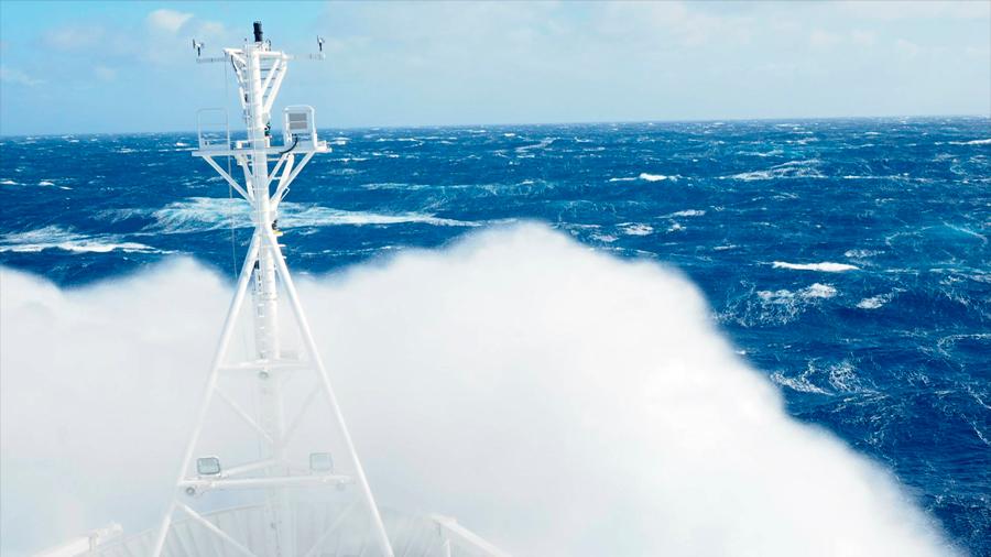 Los vientos océanicos y las olas son cada vez más fuertes