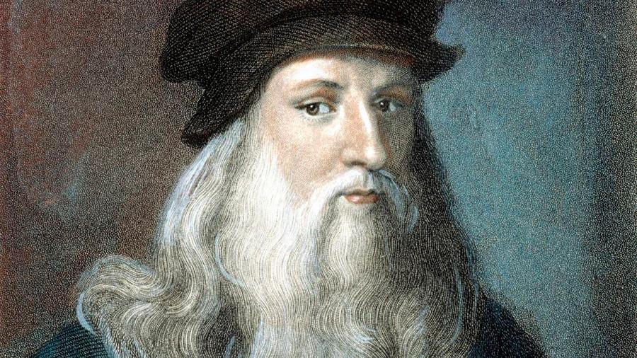 Descubren mechón de pelo de Leonardo Da Vinci para rastrear su ADN