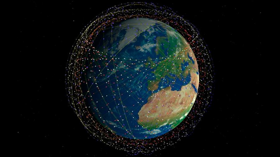 Críticas a la nueva red de 12.000 satélites que busca colocar Elon Musk