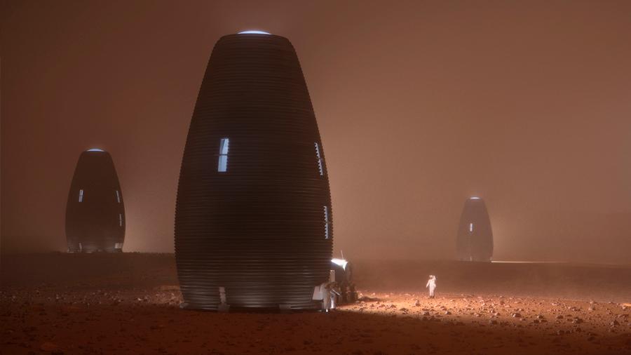 Colmena impresa en 3D podría ser nuestro futuro hogar en Marte
