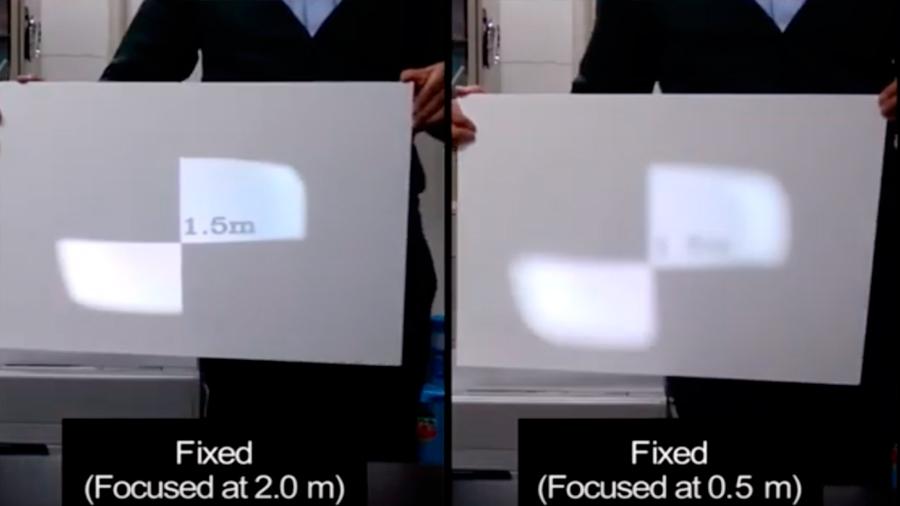 Japoneses crearon un proyector que convierte una hoja de papel en una pantalla súperestable