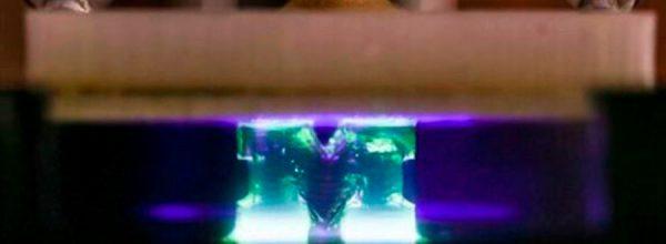 Logran impresión 3D a la velocidad de la luz