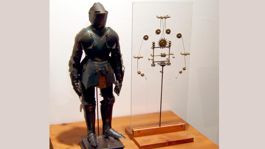 'Automa cavaliere': el robot que diseñó Leonardo da Vinci