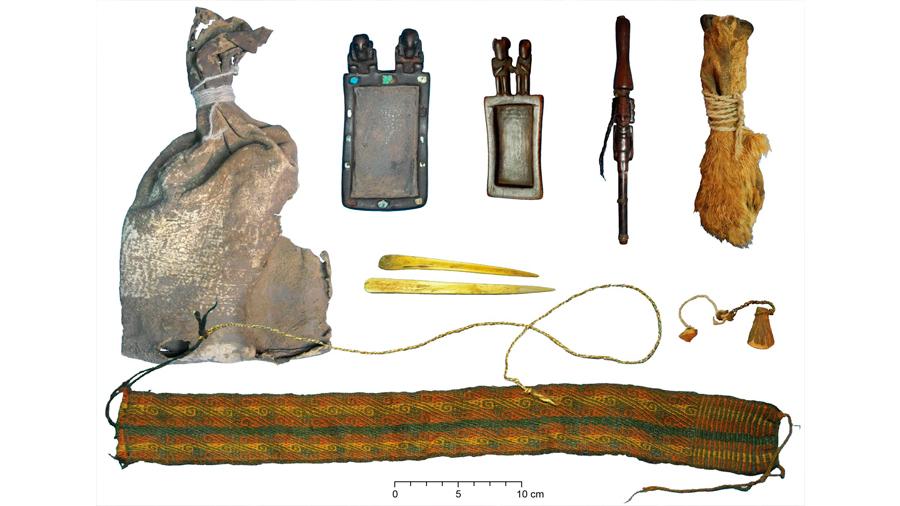 Una bolsa de hace mil años desvela las drogas que consumían los indígenas americanos
