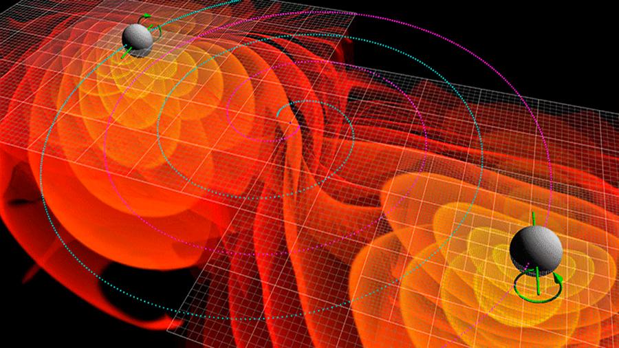 Las ondas gravitacionales dejan efectos que pueden registrarse