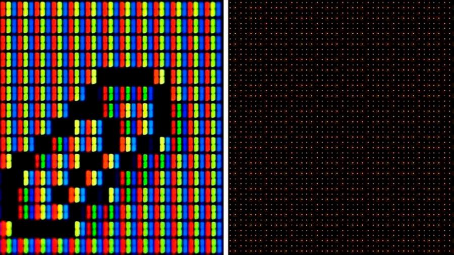 Crean los píxeles más pequeños del mundo: un millón de veces más que los usados en los móviles