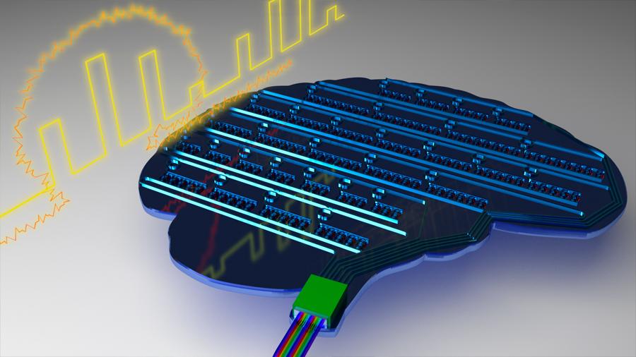 Logran Primera red neuronal artifricial que funciona con luz