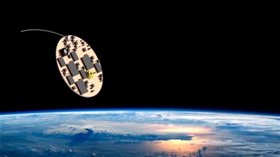 Diminuta nave impulsada por vela láser podría llegar a la estrella más cerca en 20 años