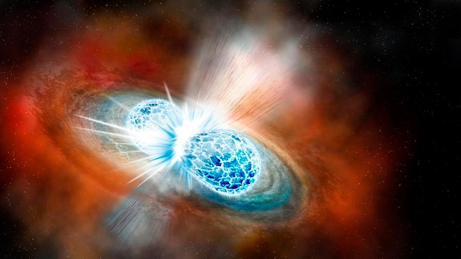 Choque de estrellas detonó la formación de oro y plata en la Tierra, postulan astrofísicos