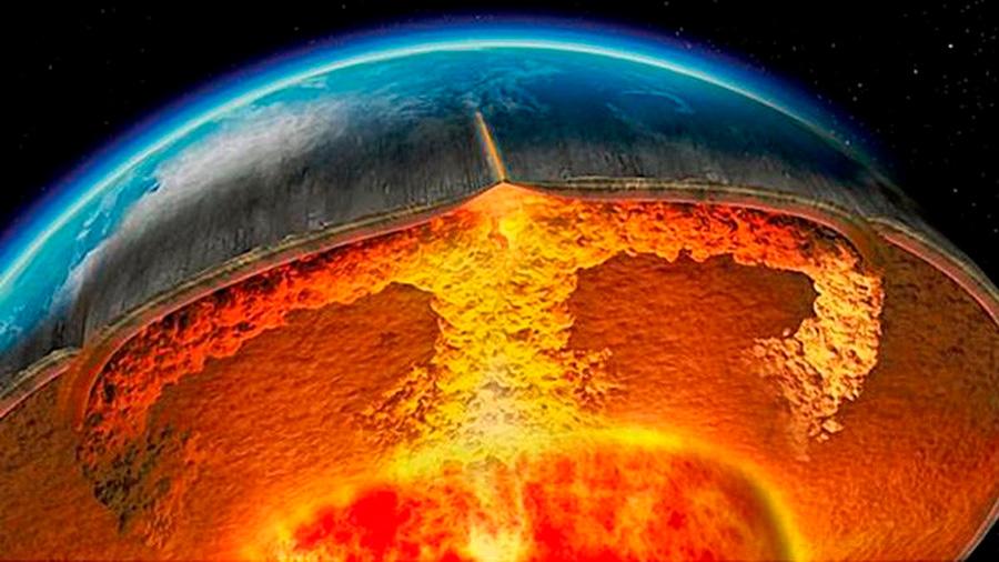 Descubren primera evidencia de formación de volcanes con origen en la zona de transición del manto de la Tierra